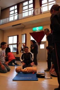 Cardiopulmonary resuscitation class