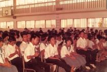Junior high school meeting