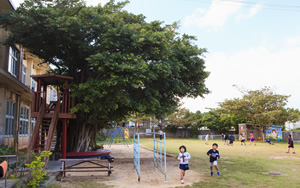 Courtyard, slide