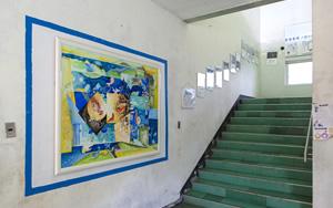 1F风景、楼梯